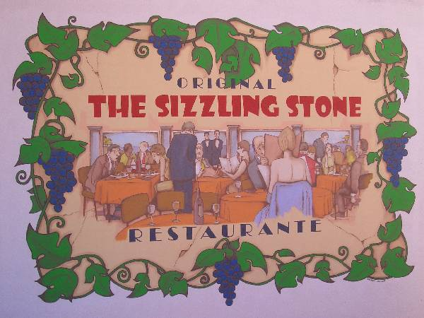 the sizzling stone restaurant